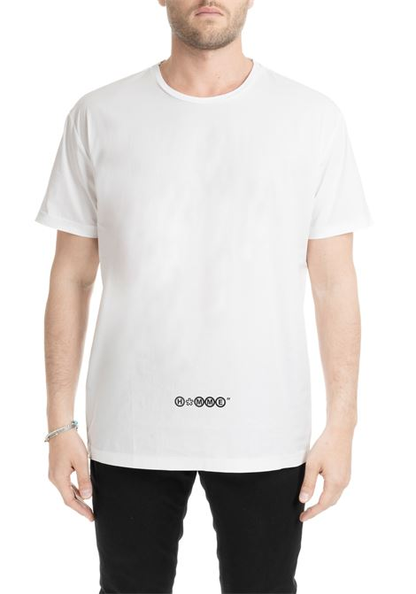 WHITE SOFT T-SHIRT DANIELE ALESSANDRINI | T-shirt | M6962R124039022