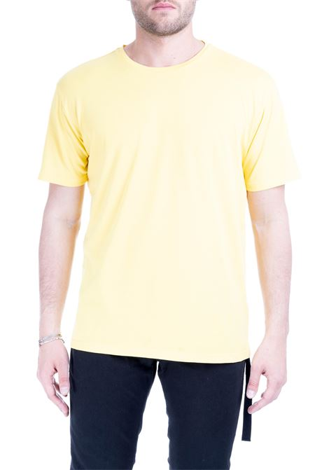 YELLOW PRIORITY PASS T-SHIRT DANIELE ALESSANDRINI | T-shirt | M6989E643390128