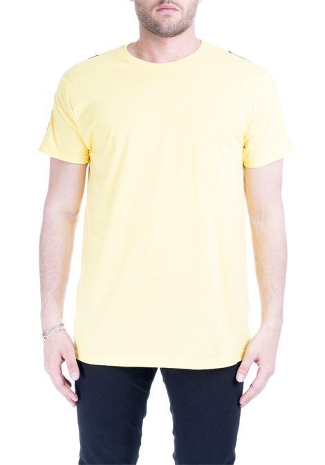 T-SHIRT BINARI GIALLA DANIELE ALESSANDRINI | T-shirt | M7020390228