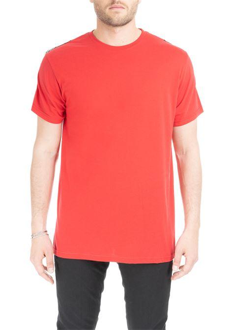 T-SHIRT BINARI ROSSA DANIELE ALESSANDRINI | T-shirt | M702039029