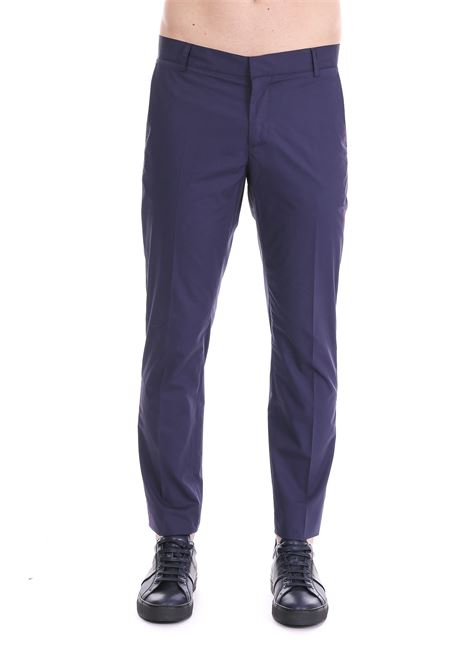 BLU REGULAR TROUSERS DANIELE ALESSANDRINI | Pants | P2847R1237390023