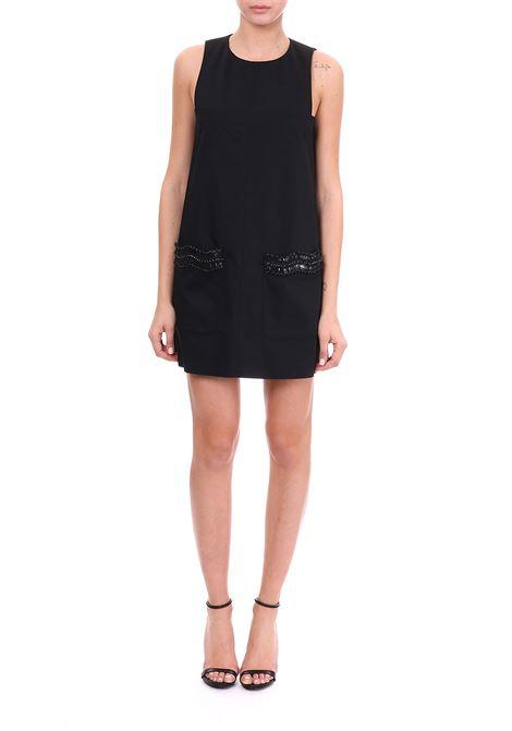 DRESS WITH JEWEL POCKETS DONDUP | Dress | A895CT0098040PDDS19999