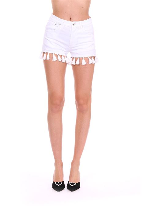SHORTS ''MICOL'' CON NAPPINE DONDUP | Shorts | DP334NBS0009PTDPDDS19000