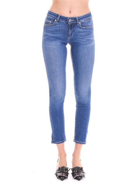 JEANS ''MONROE'' IN DENIM BLU DONDUP | Jeans | P692DS0233V27PDDS19800