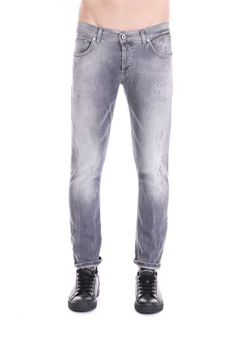 JEANS '' MIUS '' IN GRAY DENIM DONDUP | Jeans | UP168DS0225U51DUS19999