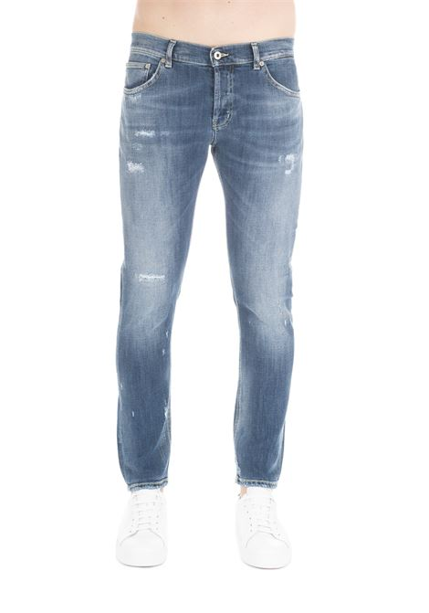JEANS '' MIUS '' IN BLUE DENIM DONDUP | Jeans | UP168DS0229U39DUS19800