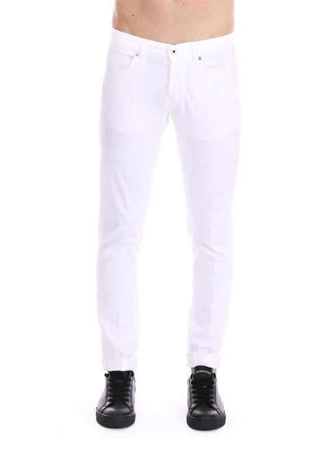 WHITE DENIM 'GEORGE' JEANS DONDUP | Jeans | UP232BS0015PTDDUS19000