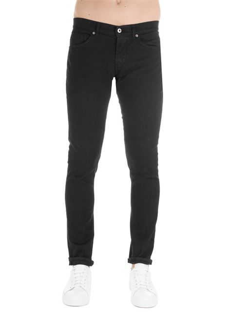 PANTALONE GEORGE IN DENIM NERO DONDUP | Jeans | UP232BS0015PTDDUS19999