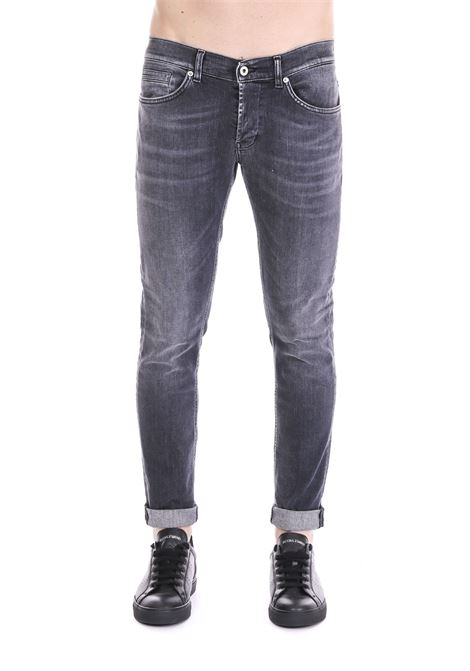 JEANS '' GEORGE '' IN DARK GRAY DARK DONDUP | Jeans | UP232DS0168U59DUS19999