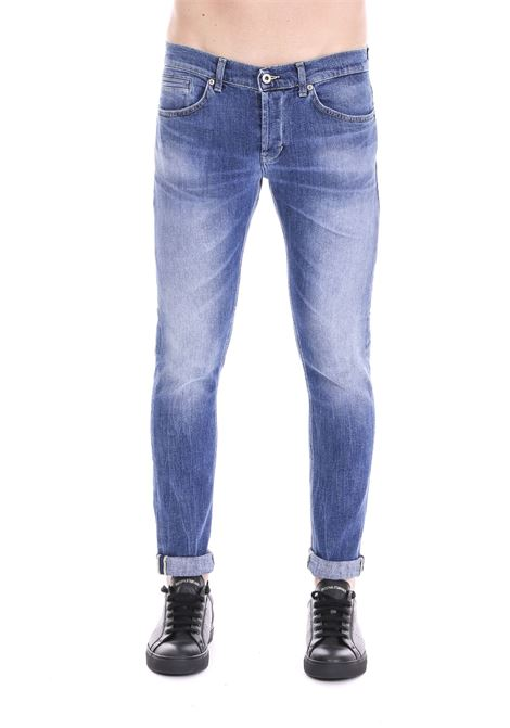JEANS '' GEORGE '' IN A LIGHT DENIM DONDUP | Jeans | UP232DS0229U36DUS19800