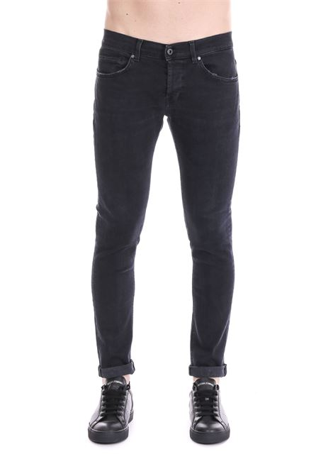 JEANS '' GEORGE '' IN BLACK DENIM DONDUP | Jeans | UP232DS0236V65DUS19999