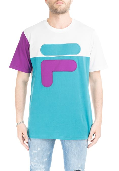 BALDWIN LARGE F COLOUR BLOCK T-SHIRT FILA | T-shirt | 684471A153