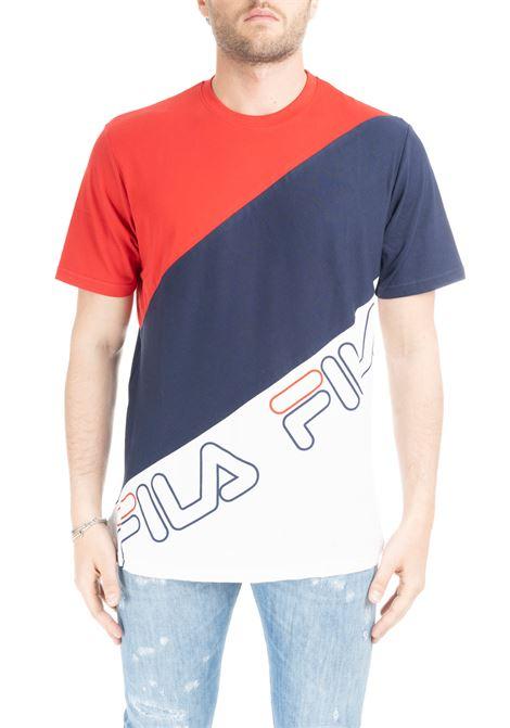 GROVE DIAGONAL BLOCK T-SHIRT FILA | T-shirt | 684494G70