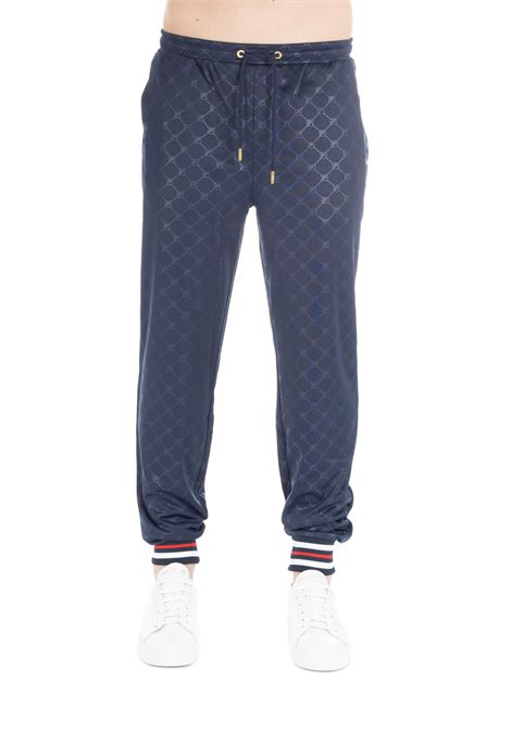 MITCHELL EMBOSSED BLUE PANTS FILA | Track Pants | 684497003