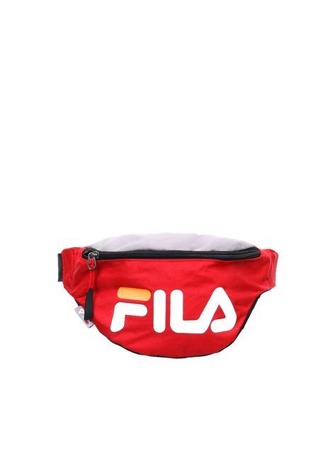 MARSUPIO ROSSO LOGO STAMPATO FILA | Belt Bags | 685003ROSSO