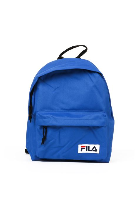 BLUE BACKPACK WITH LOGO PATCH FILA | Backpacks | 685043BLU