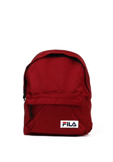 BORDEAUX BACKPACK WITH LOGO PATCH FILA | Backpacks | 685043BORDEAUX
