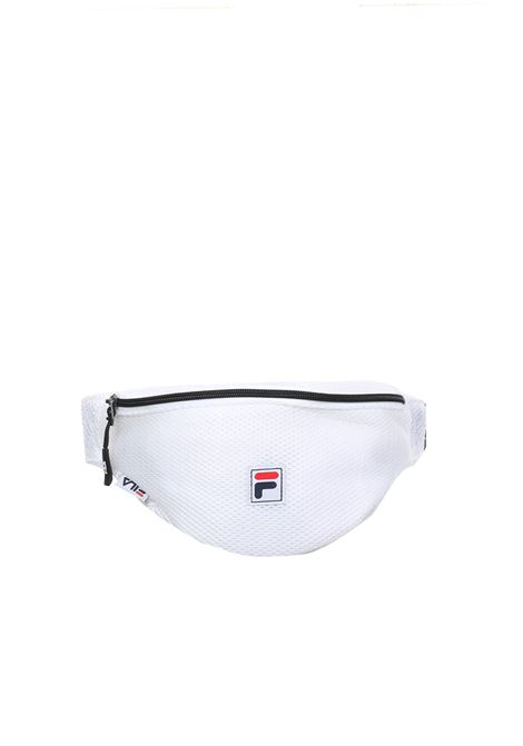 WHITE MESH WAIST BAG FILA | Belt Bags | 685055BIANCO