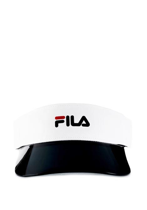 VISIERA BIANCA PLEXI FILA | Cappelli | 686026BIANCO