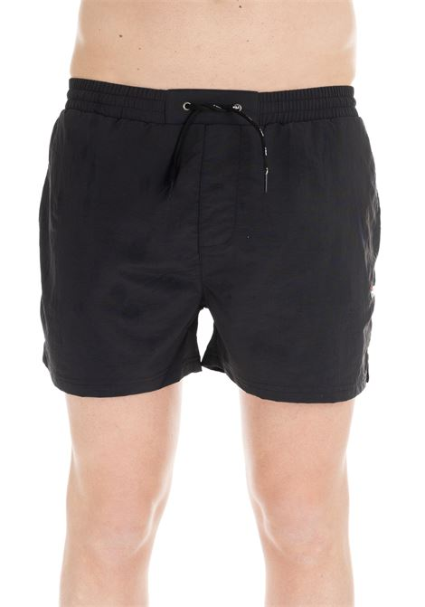 BLACK OWEN MID-LENGHT SWIM SHORTS FILA | Swimsuits | 687121002