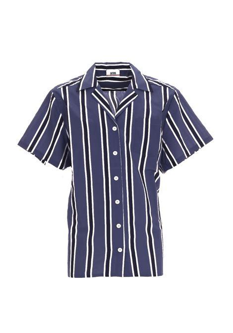 STRIPED SHIRT GCDS | Shirts | SS19M02000108
