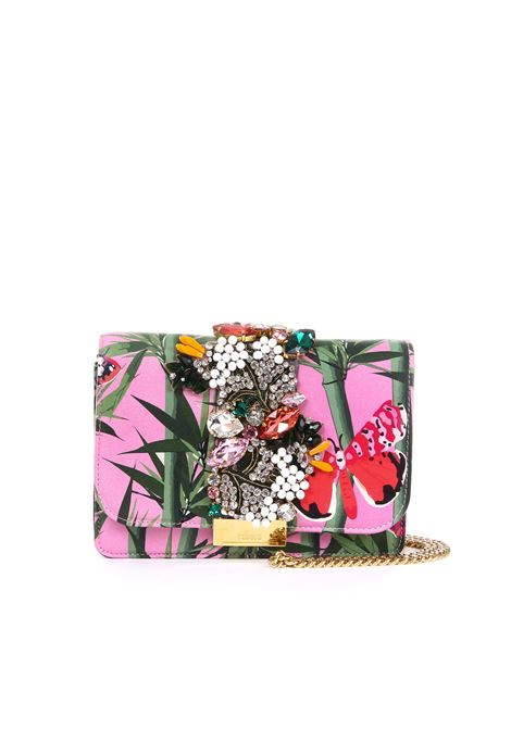 CLUTCH IN NAPPA CLIKY BAMBU BUTTERFLY GEDEBE | Bags | CLIKY FLORALIAFANTASIA