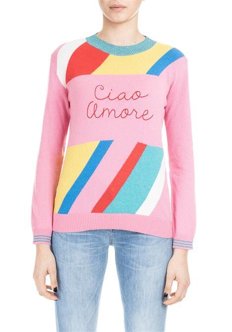 PINK CIAO AMORE SWEATER GIADA BENINCASA | Sweaters | P9603KC1