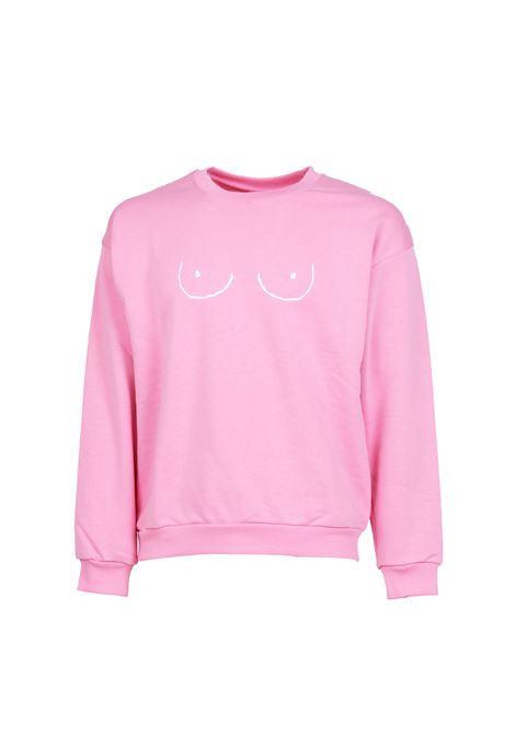 COTTON SWEATSHIRT GLIMMED | Sweatshirts | CCW190100602ROSA
