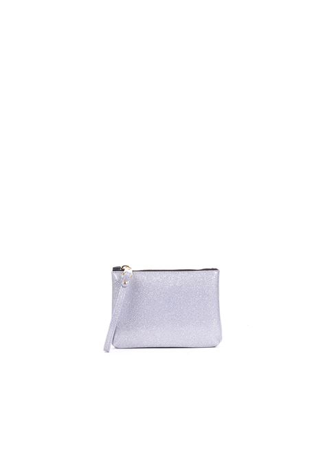 LITTLE CLUTCH NUMBERS GLITTER/SILVER GUM | Clutches | BC4051/19PEGLITTERBERGSILVER