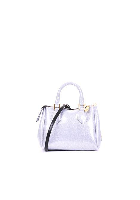 GLITTER LATEX BAG GUM | Bags | BS1729/19PEGLITTERBERGSILVER