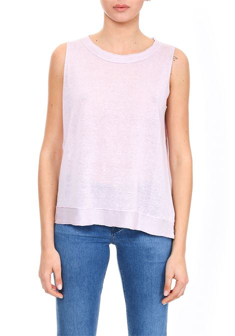 LILAC TOP WITH ROLL EDGES HEMISPHERE | Tops | HES9191X841-124172