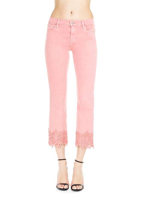 PINK SELENA CROP FADED GLARE JEANS  J BRAND | Jeans | JB000898/DROSA