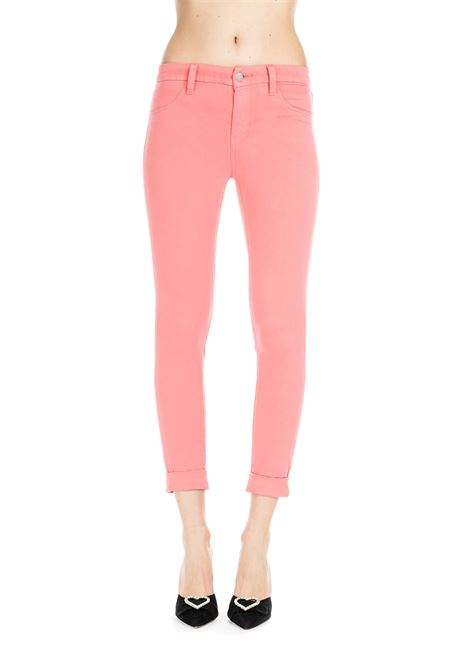 CORAL ANJA LUXE SATEEN TROUSERS