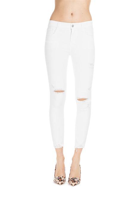 WHITE SKINNY FIT JEANS ZEALOUS  J BRAND | Jeans | JB002043BIANCO