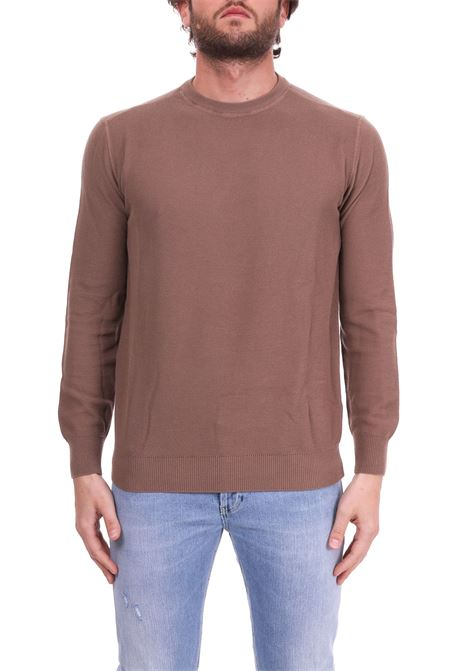 CAMEL CREWNECK SWEATER IN COTTON KANGRA | Sweaters | 700701190