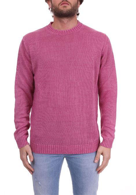 LINEN PINK SWEATER KANGRA | Sweaters | 72000160