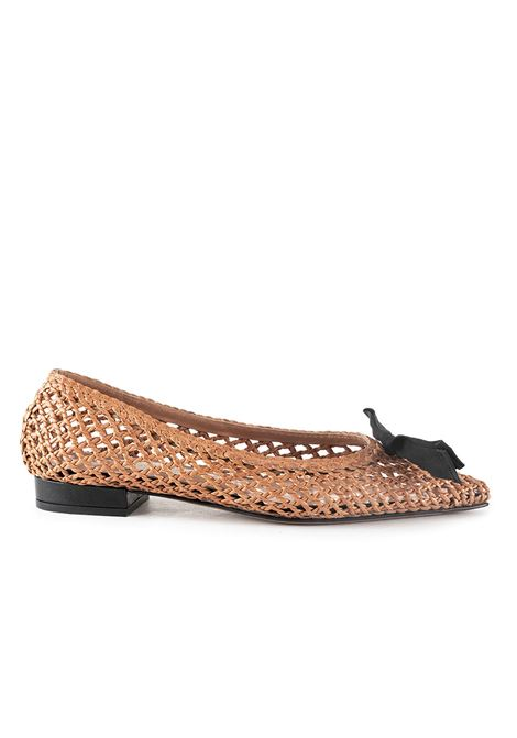BUFF FLAT IN PERFORATED LEATHER L'AUTRE-CHOSE | Ballerinas | LDJ03920CP2767E945ROSA