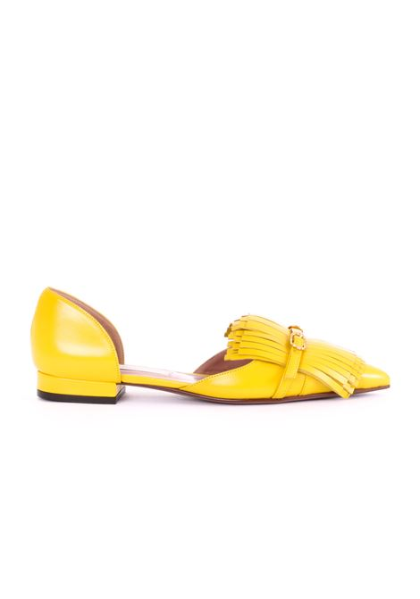 YELLOW D'ORSAY FLATS WITH FRINGE L'AUTRE-CHOSE |  | LDJ15620CP26155004GIALLO