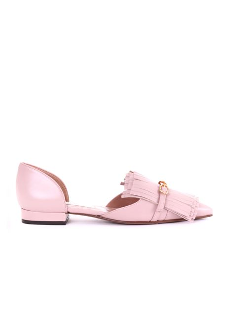 PINK D'ORSAY FLATS WITH FRINGE L'AUTRE-CHOSE | Ballerinas | LDJ15620CP26158047ROSA