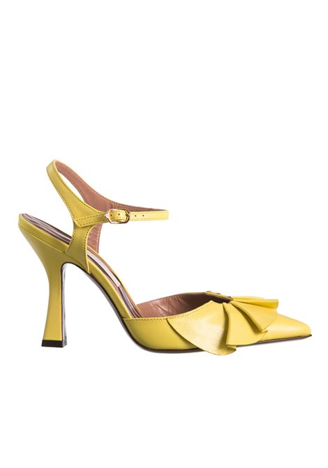 YELLOW LEATHER SLINGBACK WITH VOLANT L'AUTRE-CHOSE |  | OSJ23195CP27805046GIALLO