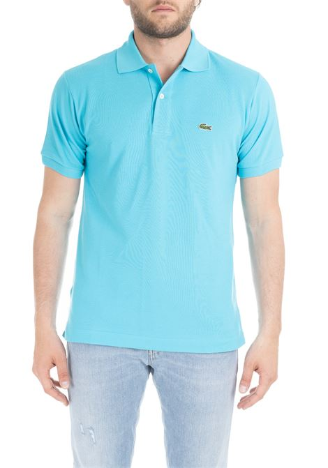 AZZURRE CLASSIC POLO IN PIQUE' OF COTTON Lacoste | Polo Shirts | L1212HL5
