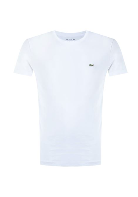 ULTRA LIGHTWEIGHT PIMA COTTON WHITE T-SHIRT Lacoste | T-shirt | TH6709001
