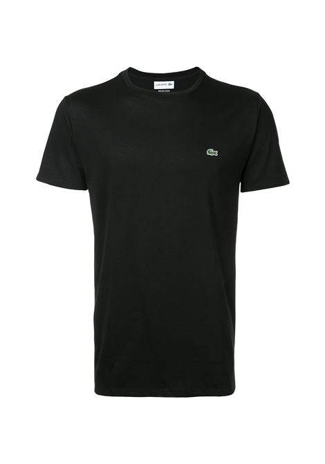 ULTRA LIGHTWEIGHT PIMA COTTON BLACK T-SHIRT Lacoste | T-shirt | TH6709031