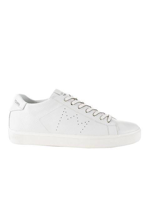 WHITE ICONIC SNEAKER LEATHER CROWN | Sneakers | MICONIC20