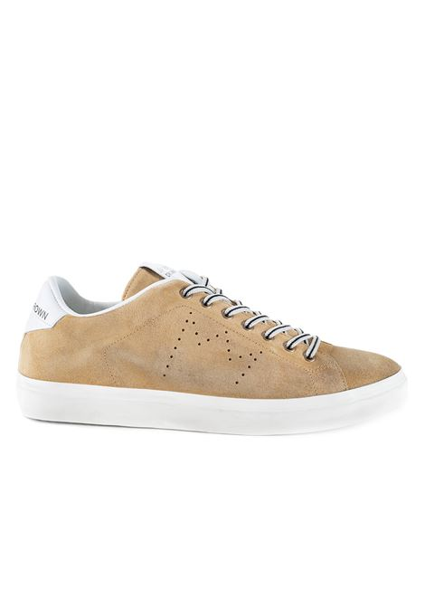 SNEAKERS LC06 IN SUEDE - CAMEL LEATHER CROWN | Sneakers | MLC063032