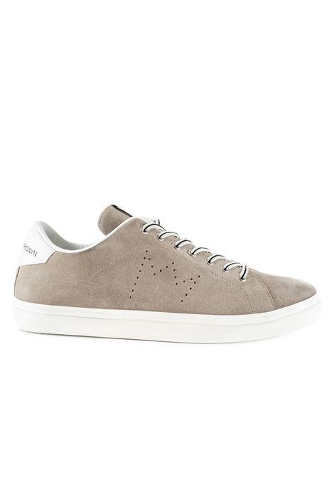 BEIGE SNEAKERS LC06 IN SUEDE LEATHER CROWN | Sneakers | MLC06328