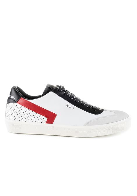 SNEAKERS SKT - RED LOGO LEATHER CROWN | Sneakers | MLC79301