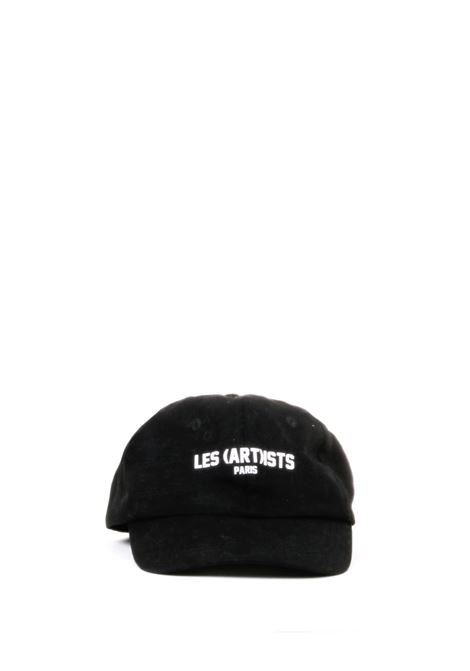 CAPPELLO NERO STAMPA LOGO LES ARTISTS | Cappelli | LA08CAP91BLACK