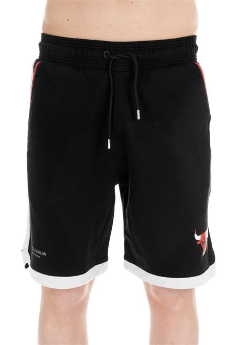 SHORTS CHICAGO BULLS NERO MARCELO BURLON | Shorts | CMCB002R196300451088