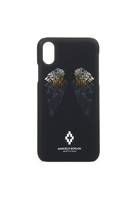 HEART WINGS X CASE BLACK WHITE MARCELO BURLON | Case | CMPA007R190080921001